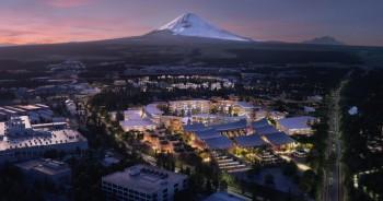 Toyota starts building smart city near Mt Fuji